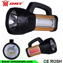 AT-X8 new factory supply high power searchlight with USB Portable Search Light Flashlight Torch hunting light