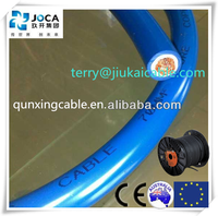 CE double insulated copper rubber awg welding cable 35mm2