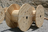 empty large power wood cable spools for sales
