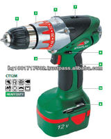 High Quality Status Durable Tools 12V Power Cordless Drill