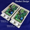 GSM-KEY innovative design gsm automatic door operator / QUAD Band gsm module inside