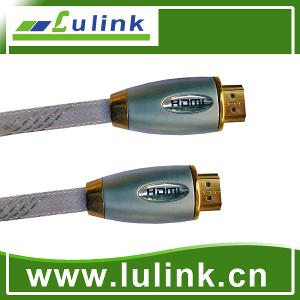 1080P Metal Casing Type HDMI cable, 19pin male to male, max length 30m