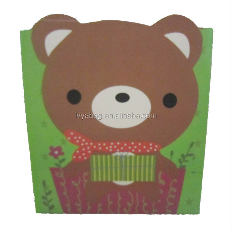 Custom reusable Promotional Gift paper bags for sweets
