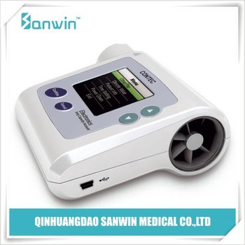 CE Approved Medical Digital Lung Spirometer