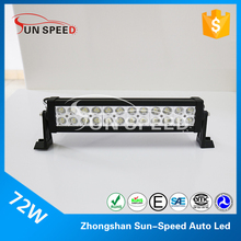 Cheap price 14 inch led light bar off road 72w high lumens 12 voltage led light bar offroad accessories
