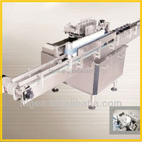 sunflower oil labeling machine paper can label machine