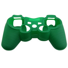 Popular Custom For PS3 Controller Silicon Case Dark Green Color