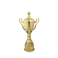 High quality golden souvenir metal trophy cup gifts