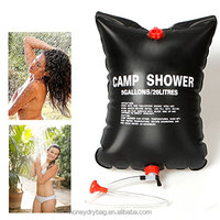 hanging solar camp waterproof shower water bags for camping