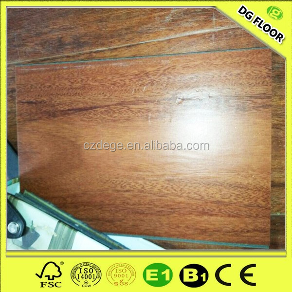 Good Quality and 100% Waterproof Wpc Deck Flooring Super Gloss