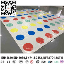 Giant Outdoor Funny Game Inflatable Twister Mats For Kids