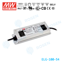 ORIGINAL Meanwell ELG-100-54 54V/1.78A IP67 AC-DC 100W LED POWER SUPPLY