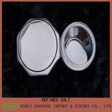 Refined iodized bulk salt