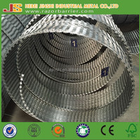 ISO9001 certificated razor tape, Sharp Blades Razor Wire BTO-22, CBT-65