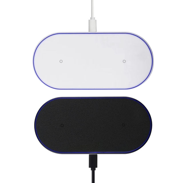 2019 trending <strong>products</strong> double 10w fast wireless charging pad for cellphone