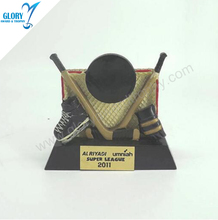 Wholesale Cooper Ice Hockey Resin Trophies And Award