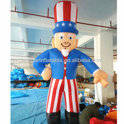 Gaint inflatable uncle sam