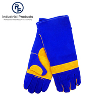 Wholesale new arrival safety industrial leather welding gloves