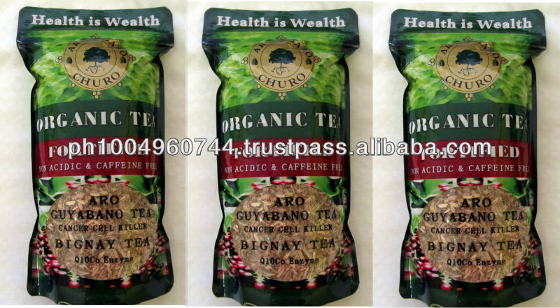 Organic GUYABANO Soursop Tea & Bignay Q10 Co