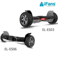 6.5 & 8.5 inch Auto-balancing couple hoverboard,with Metallic Chrome mudguard board,App & Bluetooth,LED flash,LG battery