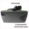New black and white plastic reality 3D glasses with bluetooth controller/ gamepad for android/IOS
