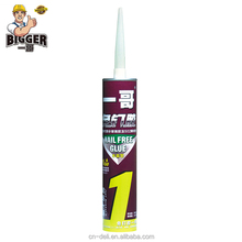 BIGGER fast using grip non toxic free nail glue Construction Glue