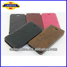 Newest Luxury High Quality Leather Wallet Flip Case Cover for iPhone 5C Phone Accessories China Manufacturer