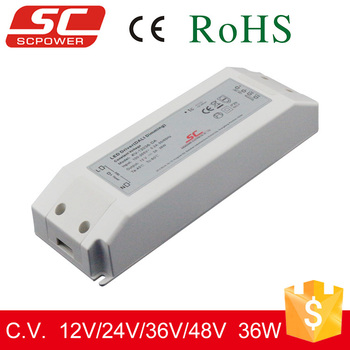 Perfect DALI dimming 24v 30w 1.5A ip20 constant voltage led dali switcing power supply
