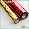 Cheap & Good Quality Laser Holographic Hot Stamping Foil Roll for Paper/Paper Bag/Carton/Wallpaper/Business Card/Cigarette Box