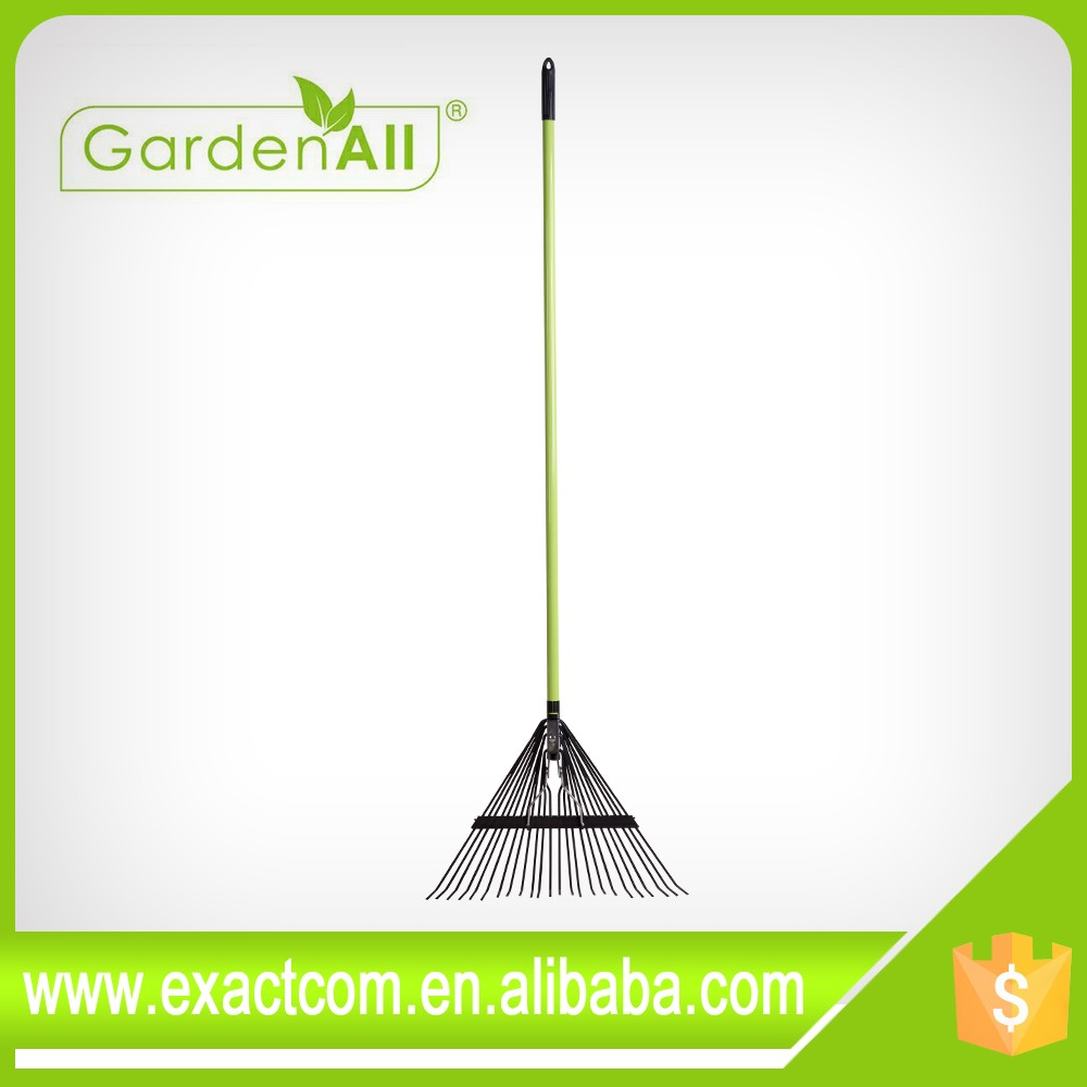 Super High Quality Fixed Tine Plastic Leaf Rake