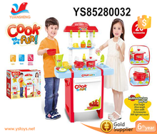 2017 promotion product kids big kitchen set toy for christmas gift set