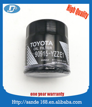 Lubrication System Oil Filter Oil Cleaner OEM 90915-YZZE1 For Yaris Prius