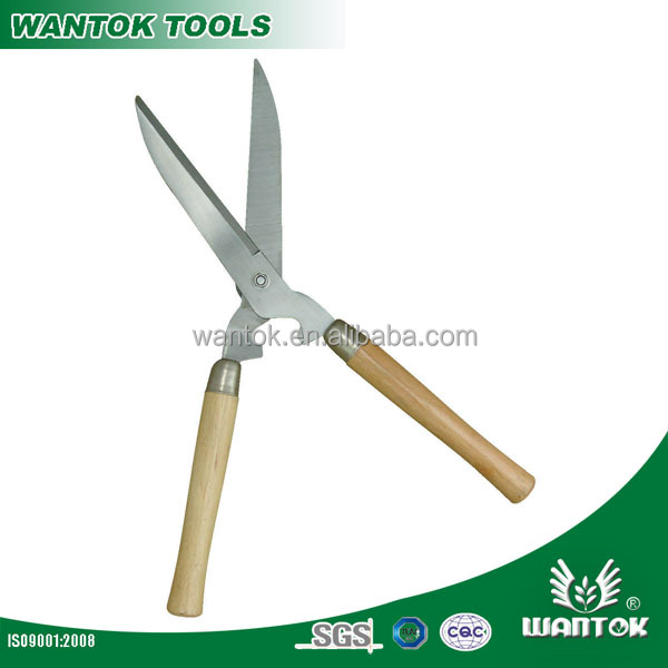21 inch Wooden Handle High Carbon Steel Hedge Shear