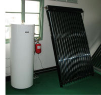 balcony wall mounted solar water heater
