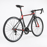 Superlight Aluminum AL6061 road racing bicycle with SHINANO 105/5800 22S groupset