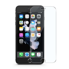 Custom made premium anti-fingerprint tempered glass screen protector for iphone 7 2.5d clear tempered glass