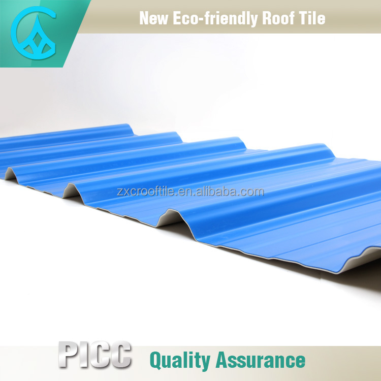Prepainted Corrugated PVC Carbon Fiber UPVC Roof Sheet