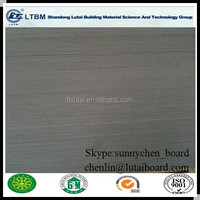 Fireproof cement board with 8mm for decorative and green board