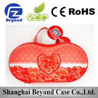 China factory wholesale Custom EVA portable bra case, bra packing case
