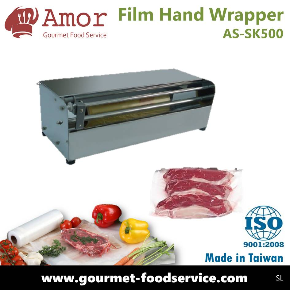 Hot sale fruit food shrink wrapping / packing wrapper machine