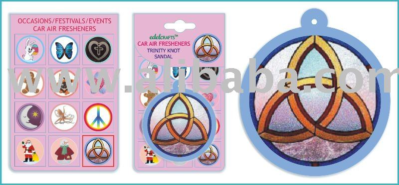Trinity Knot Car Home Paper Hanging Air Freshener