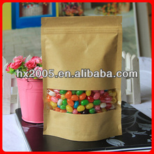 packing bags wholesale/stand up kraft paper bag/beef packing meat packing