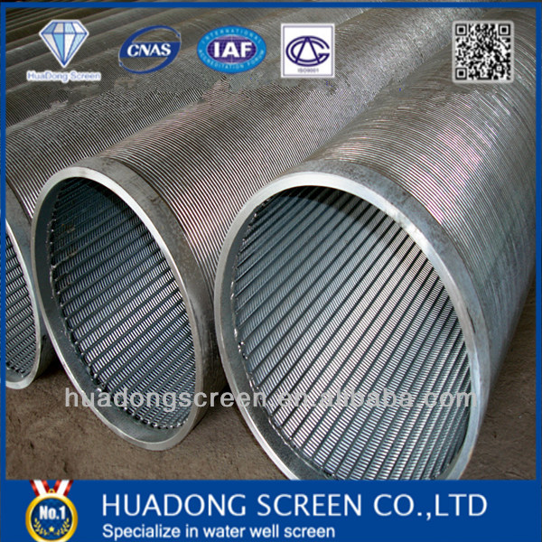 Salt Resistance Rod Based Screen/1mm Slot Well Screens Sea Water Treatment Pipe