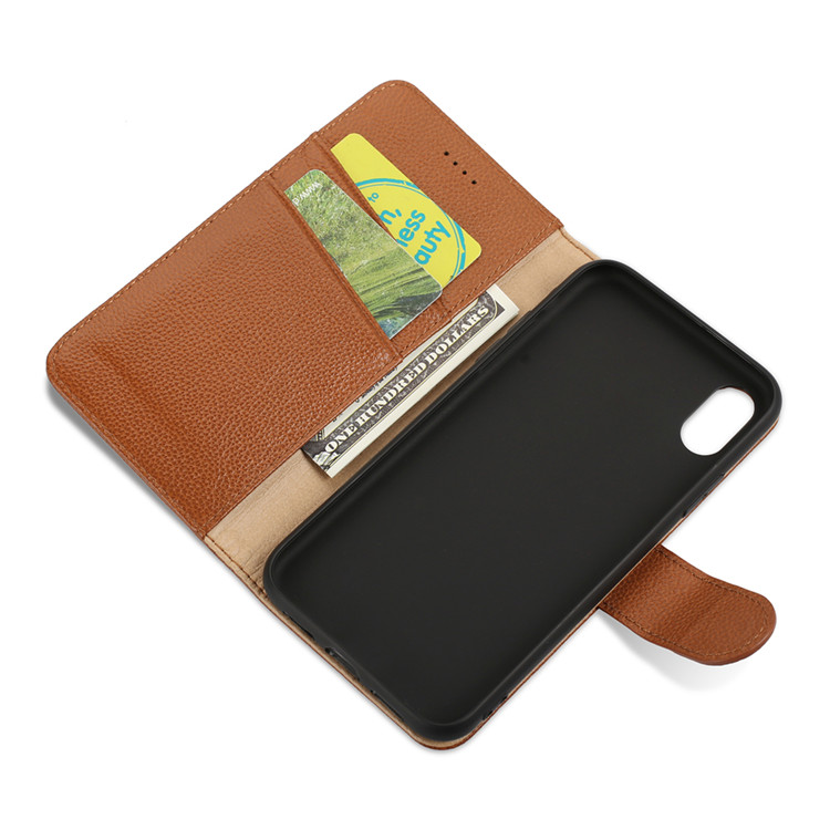 2018 New Leather Phone Case Custom Mobile Cell Phone Case for iPhone X Cover Wholesale