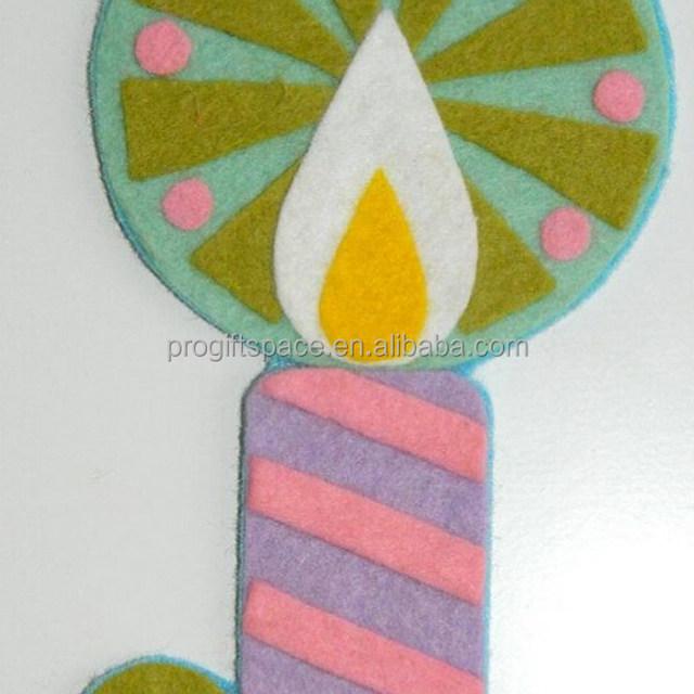 2017 New Unique Hot China Handmade Fabric Ornament Novelty Craft Christmas Decorative Wholesale Felt Fancy Birthday