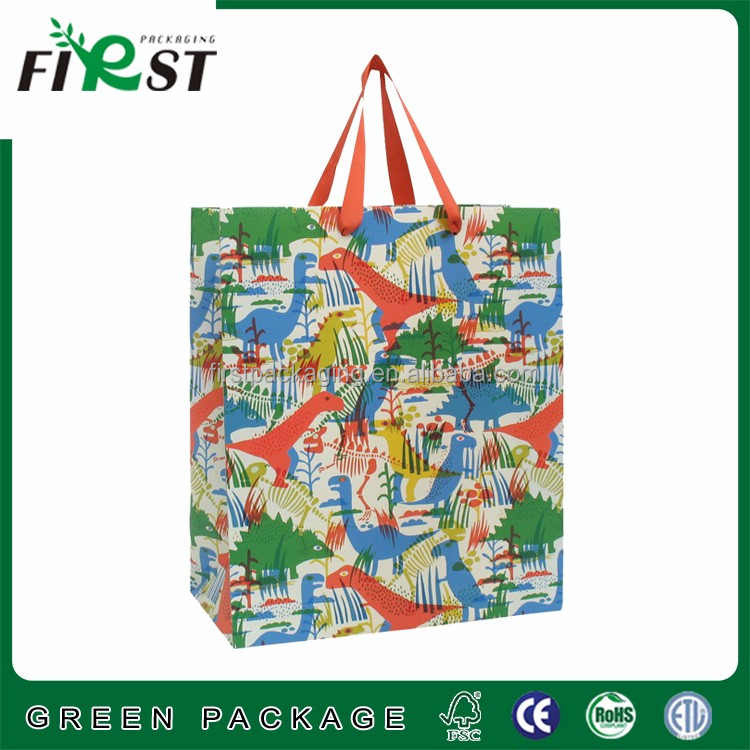 wedding dress packaging bag , raw materials of paper bag ,women bag for shopping packaging