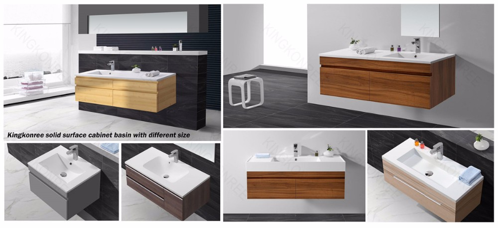 KKR artifical stone bathroom solid surface sink basin