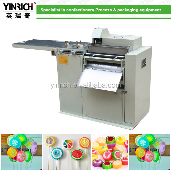 Crutch lollipop Production Line for making different kinds of candies