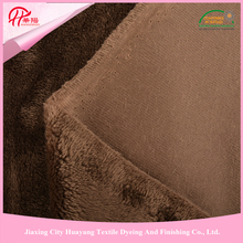 For hometextile, cushion, blanket etc micro velboa print velboa plush fabric, short pile fleece fabric