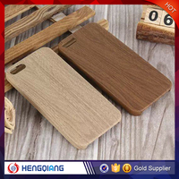 Soft mobile phone wood case for iphone 6, TPU back cover cell phone case